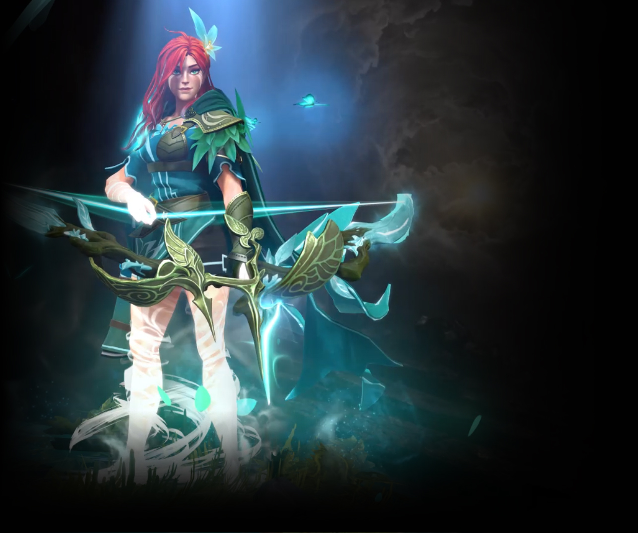 Dota 2 - Compass of the Rising Gale | WindRanger Arcana