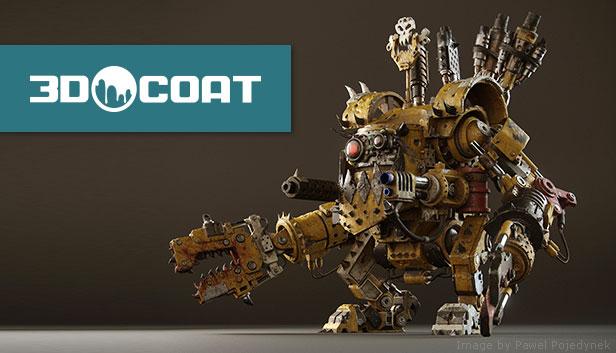3DCoat 4.9 у Steam