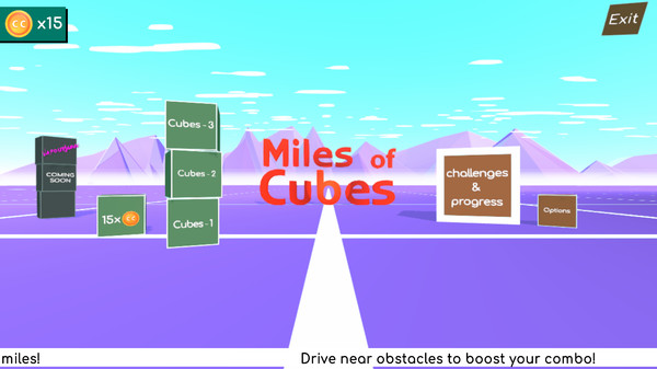 Miles_of_Cubes游戏最新中文版《立方英里》