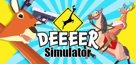 DEEEER Simulator: Your Average Everyday Deer Game Cover Image