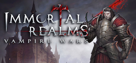 Immortal Realms: Vampire Wars Cover Image