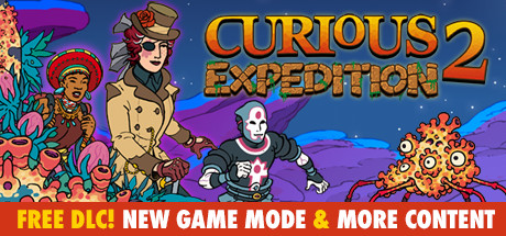 Curious Expedition 2 Capa