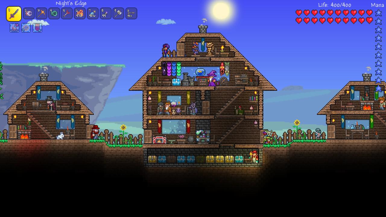 Terraria en Steam