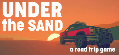 UNDER the SAND  a road trip game Capa