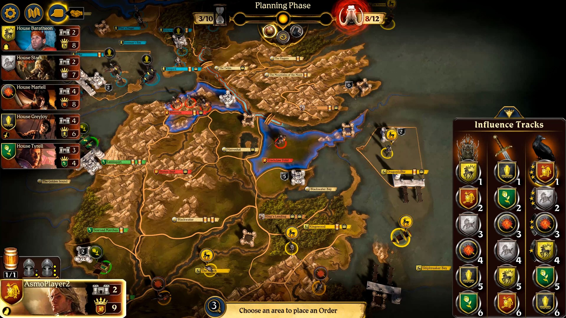 A Game Of Thrones The Board Game Digital Edition On Steam