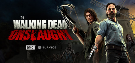 The Walking Dead Onslaught Capa
