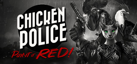 Chicken Police  Paint it RED Capa