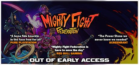 Mighty Fight Federation Capa
