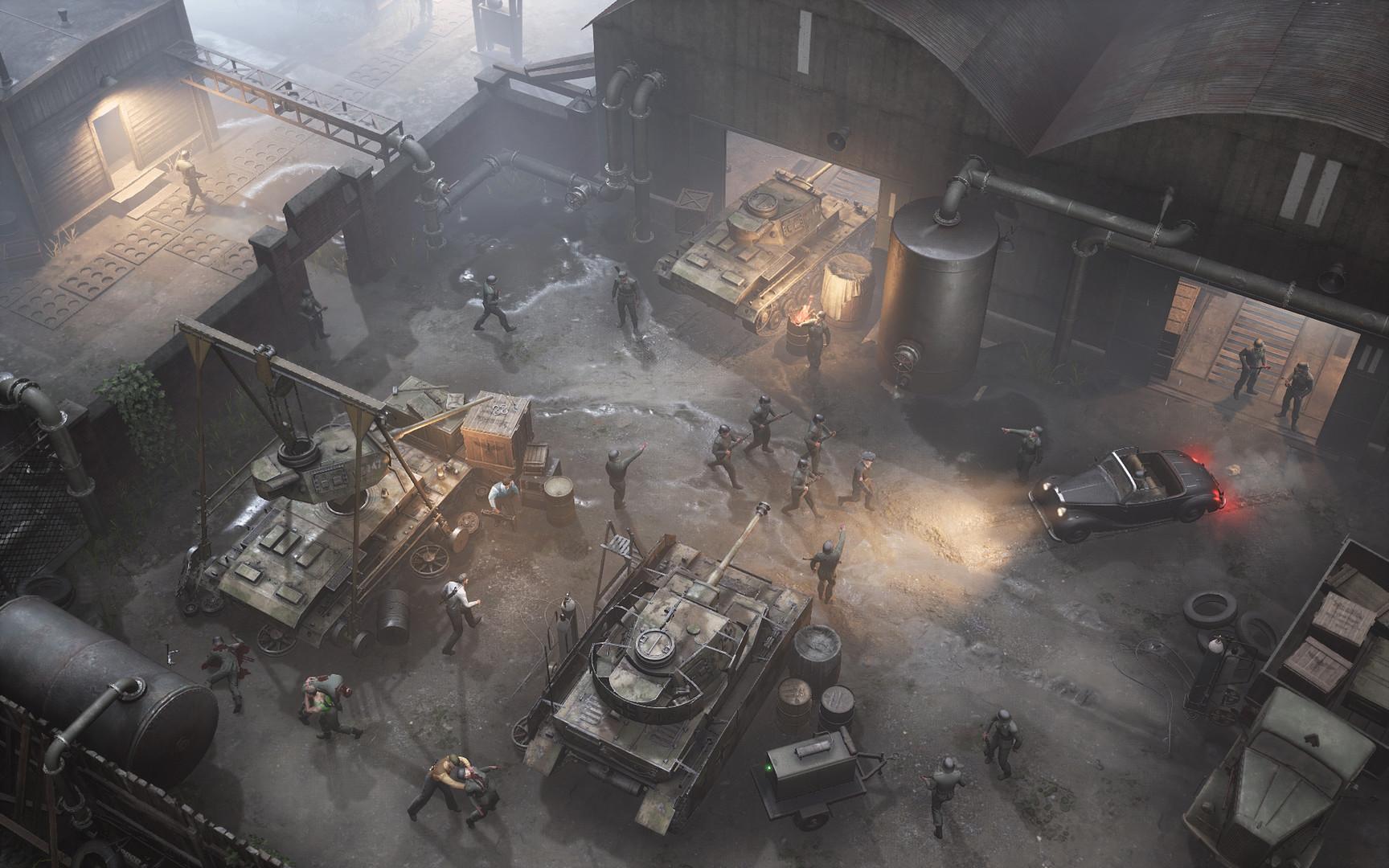La estrategia de la vieja escuela de War Mongrels también llegará a Xbox One y Xbox Series X 4