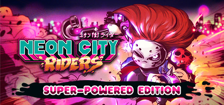Neon City Riders Cover Image