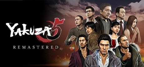 Yakuza 5 Remastered Capa