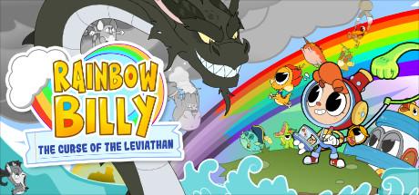 Rainbow Billy The Curse of the Leviathan Capa