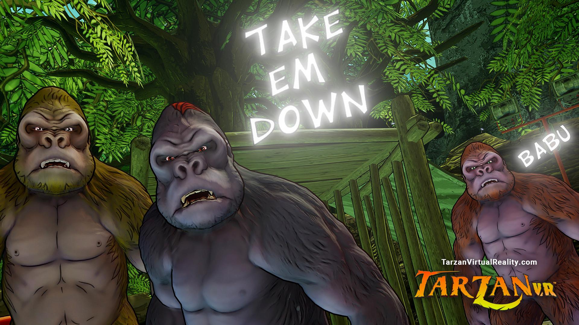 Oculus Quest 游戏《Tarzan VR™》泰山 VR™插图(1)