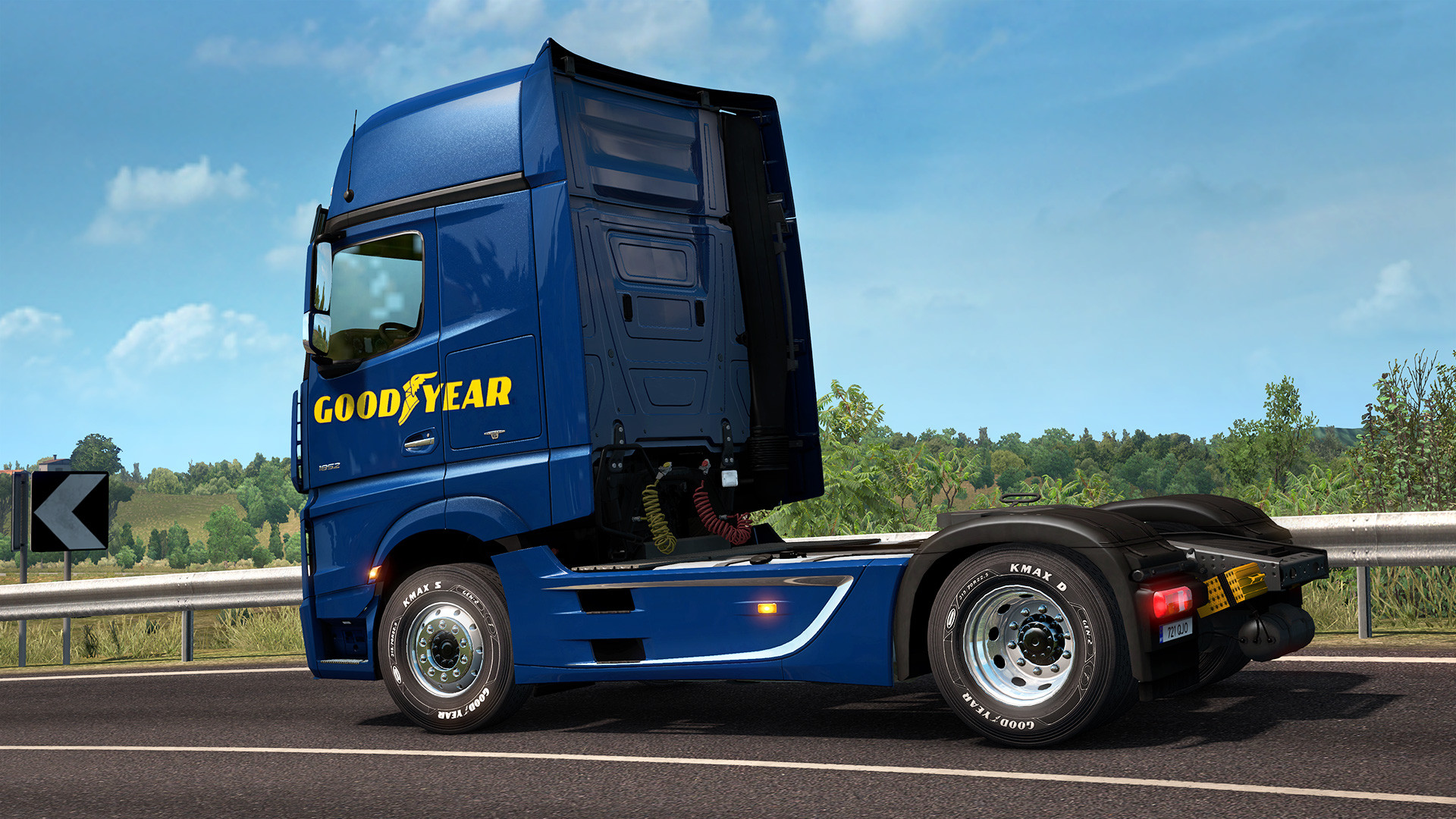 Euro truck simulator 2 - goodyear tyres pack download mediafire