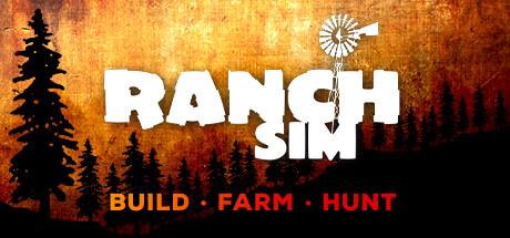 Ranch Simulator  O sandbox multijogador de gerenciamento de rancho realista Crie animais Colha Simulador de caa e construo [PT-BR] Capa