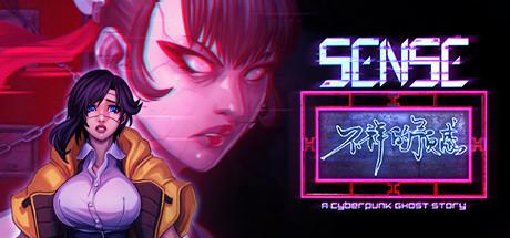 Sense   A Cyberpunk Ghost Story Capa