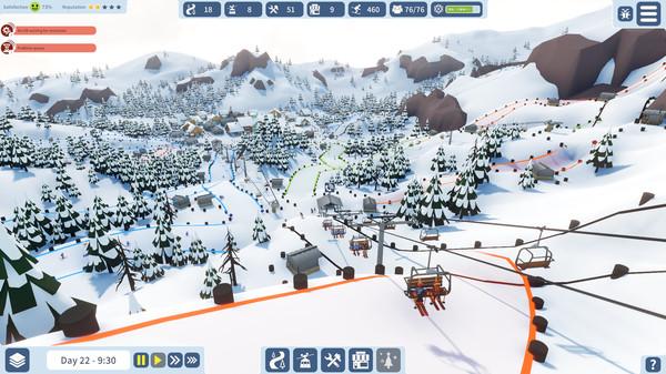 Snowtopia:_Ski_Resort_Tycoon游戏最新中文版《雪域:滑雪胜地大亨》