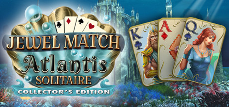 Jewel Match Atlantis Solitaire - Collector's Edition Cover Image