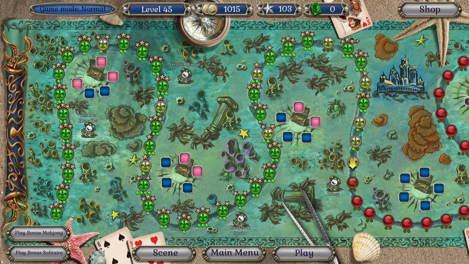 Save 50 On Jewel Match Atlantis Solitaire Collector S Edition On Steam
