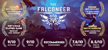 Teaser for The Falconeer