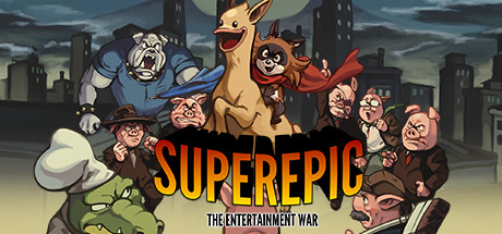 Teaser image for SuperEpic: The Entertainment War
