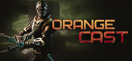 Orange Cast SciFi Space Action Game Capa