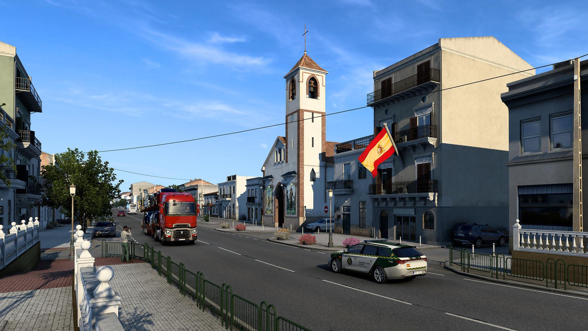 Euro Truck Simulator 2: Iberia Download DLC Free