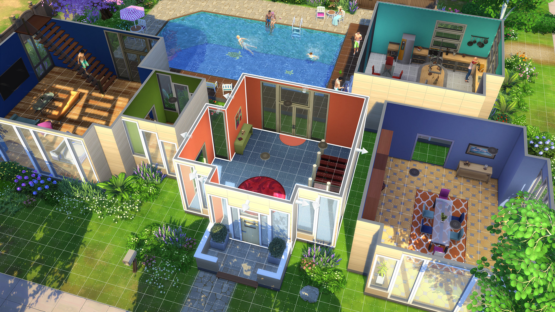 The Sims 4: Deluxe Edition [RePack] [2014 Rus Eng]