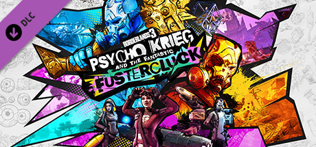 Borderlands 3 Psycho Krieg and the Fantastic Fustercluck [PT-BR] Capa