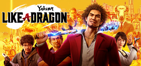 Yakuza Like a Dragon [PT-BR] Capa