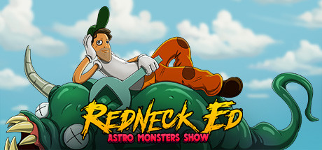 Redneck Ed Astro Monsters Show Capa