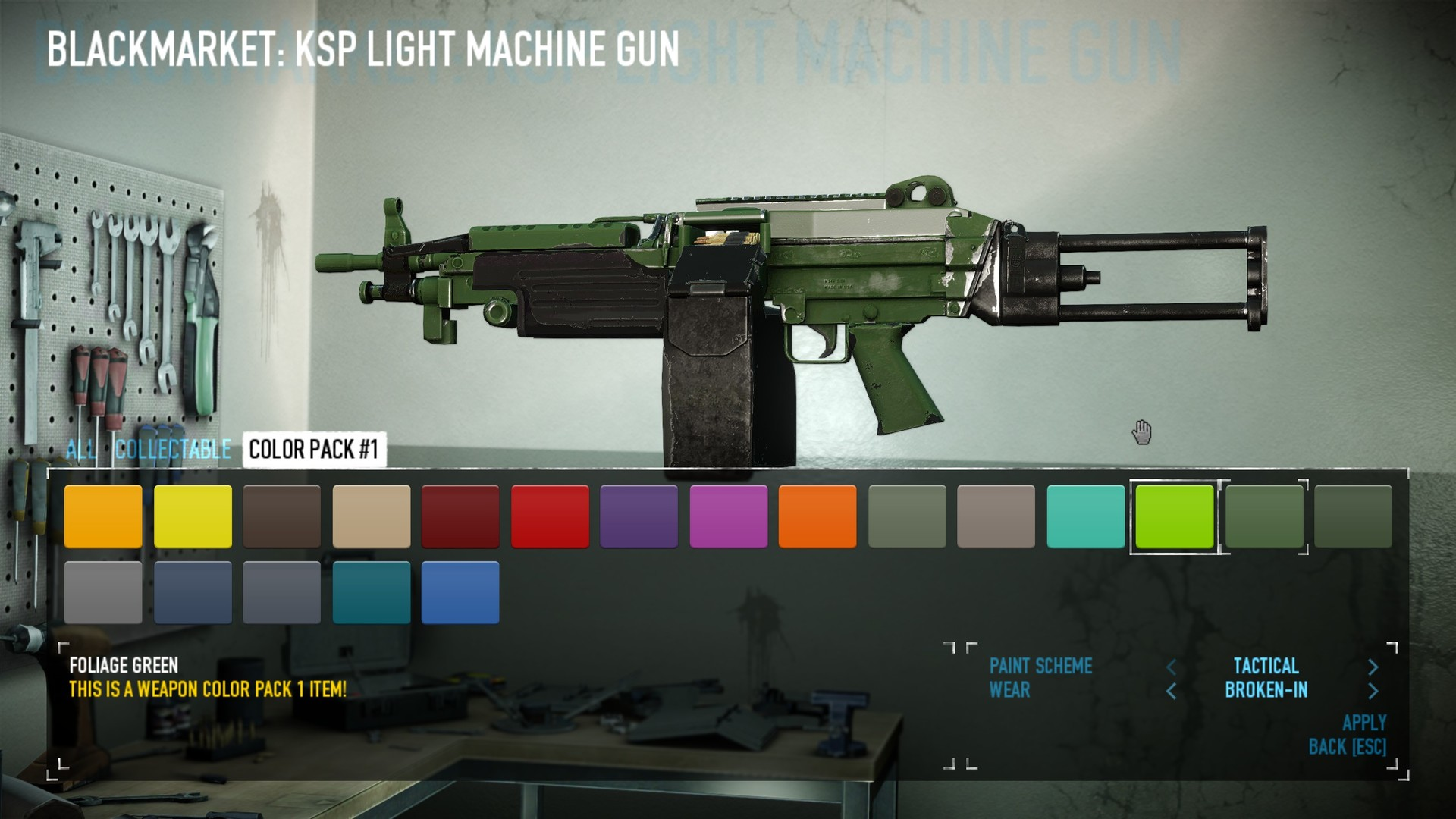 PAYDAY 2: Weapon Color Pack 1 on Steam