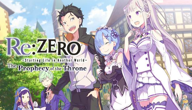 Resultado de imagem para Re:ZERO -Starting Life in Another World ps4