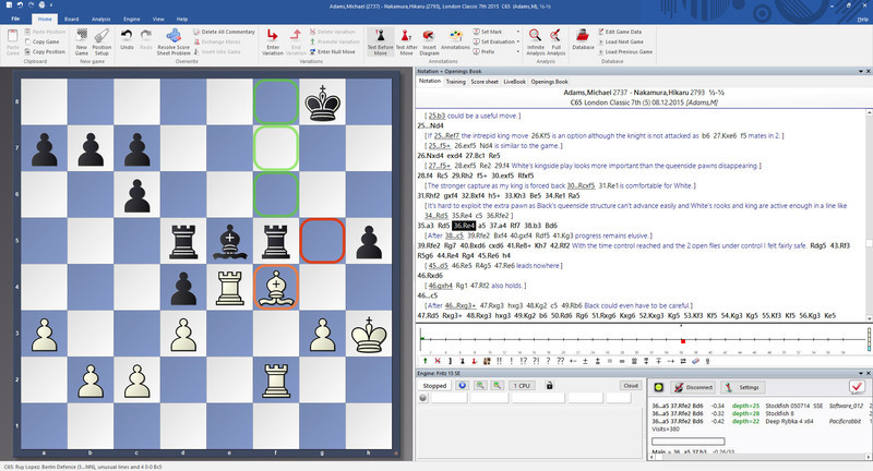 Fritz Chess 17 Steam Edition Screenshot 1