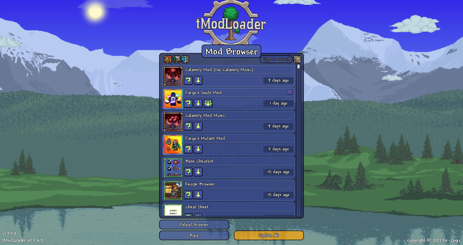 Terraria Calamity Mod Download Mac