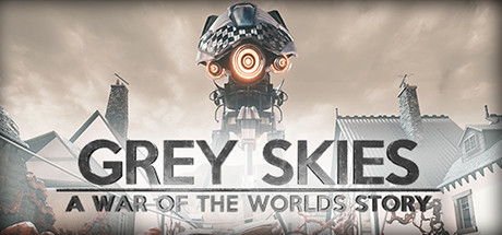 Grey Skies A War of the Worlds Story Capa