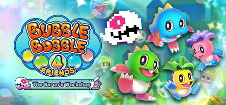 Bubble Bobble 4 Friends The Barons Workshop Capa