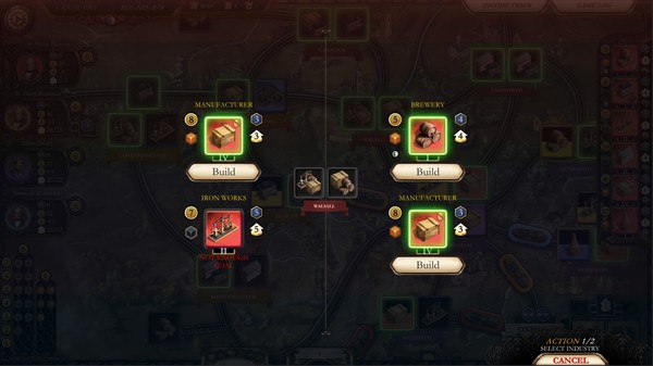 Brass:_Birmingham游戏最新中文版《工业革命:伯明翰》
