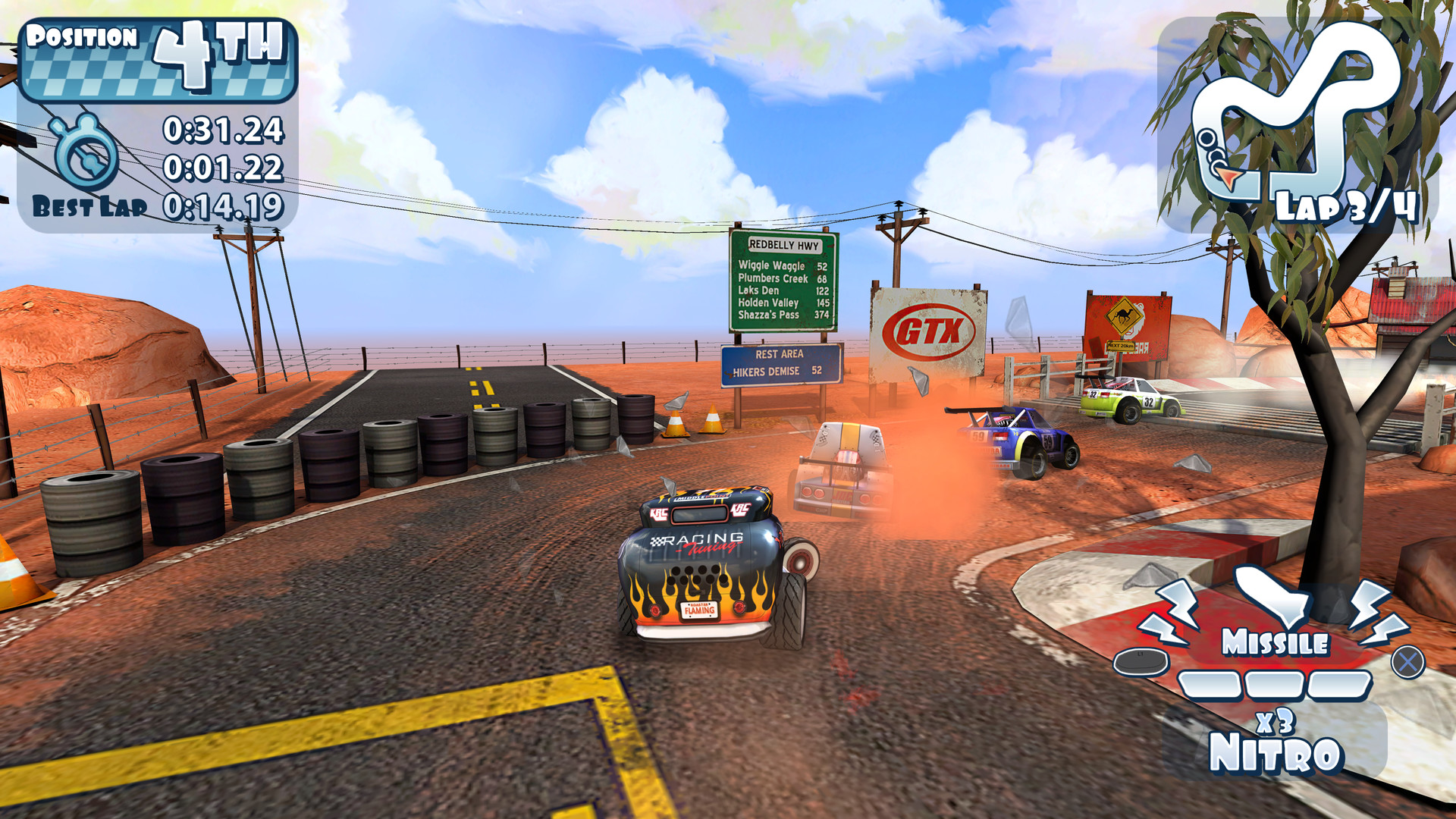 Mini Motor Racing X Screenshot 1