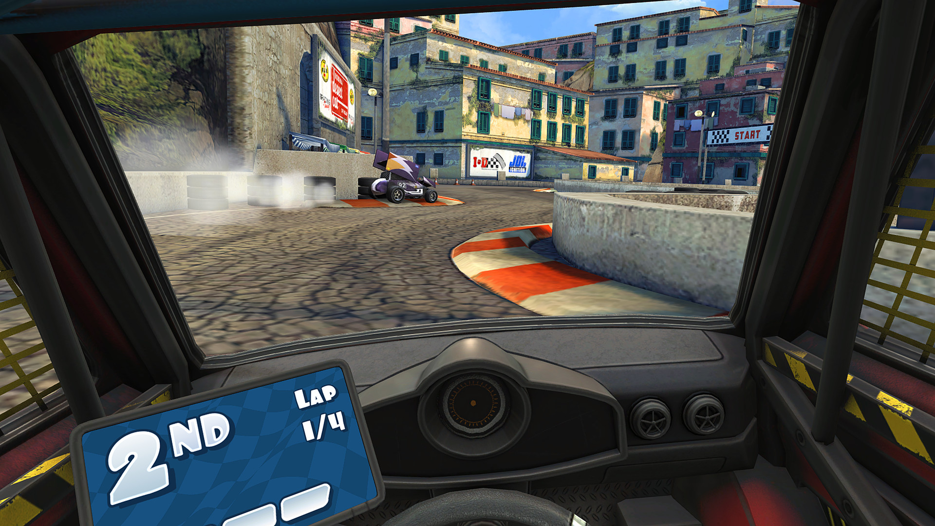 Mini Motor Racing X Screenshot 3
