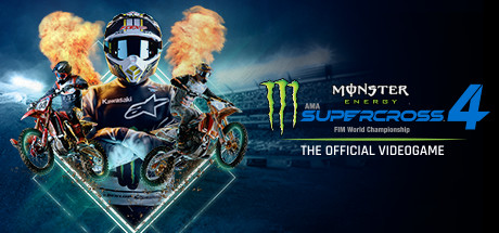 Monster Energy Supercross - The Official Videogame 4 Cover Image