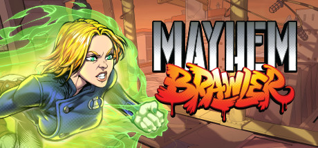Mayhem Brawler [PT-BR] Capa