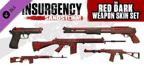 Red Dark Weapon Skin Set   DLC