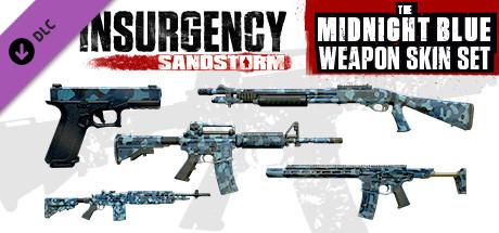 Midnight Blue Weapon Skin Set   DLC