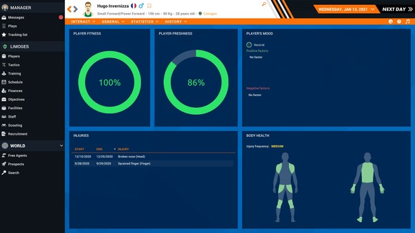 Pro Basketball Manager 2021 Free Steam Key 2