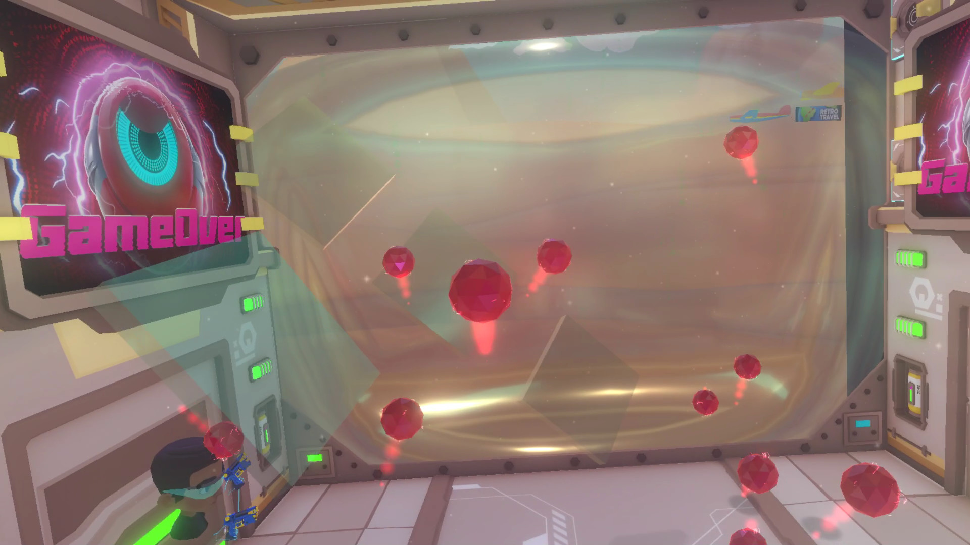 Oculus Quest 游戏《Pangman VR》射击球插图