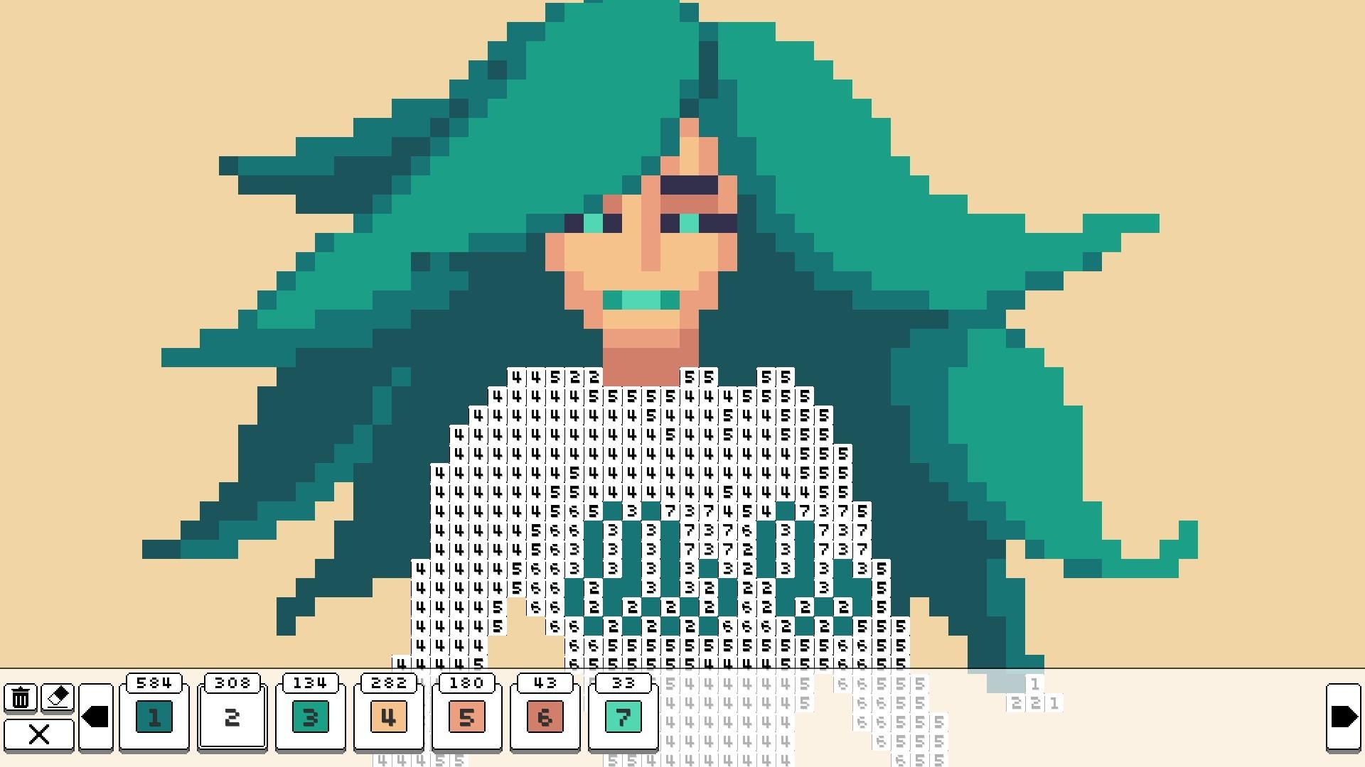 Coloring pixels - fairy tales packs