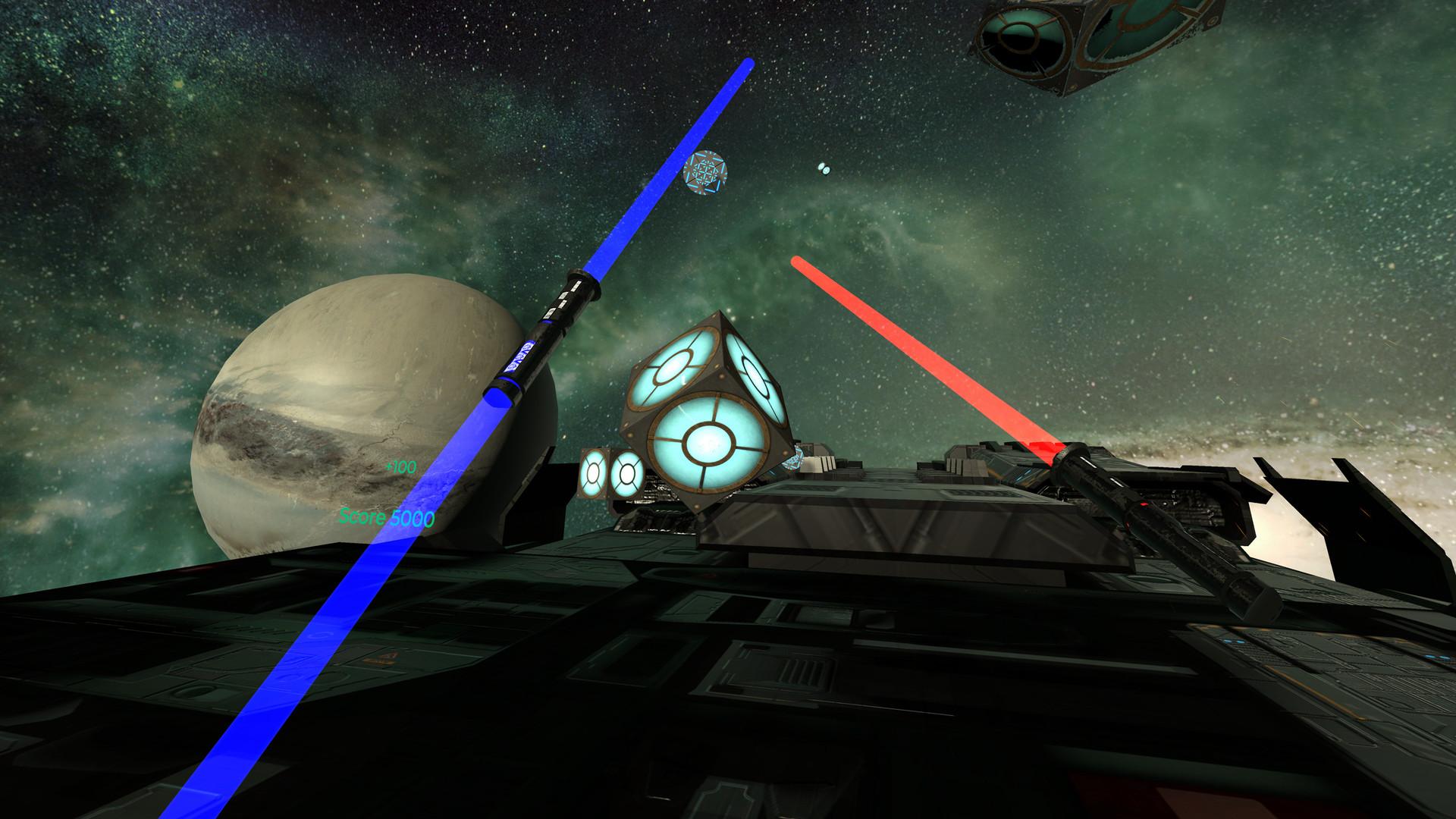 Oculus Quest 游戏《Energysaber Masta VR》太空光剑格斗VR插图(2)