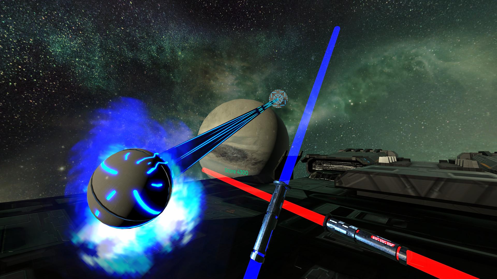 Oculus Quest 游戏《Energysaber Masta VR》太空光剑格斗VR插图