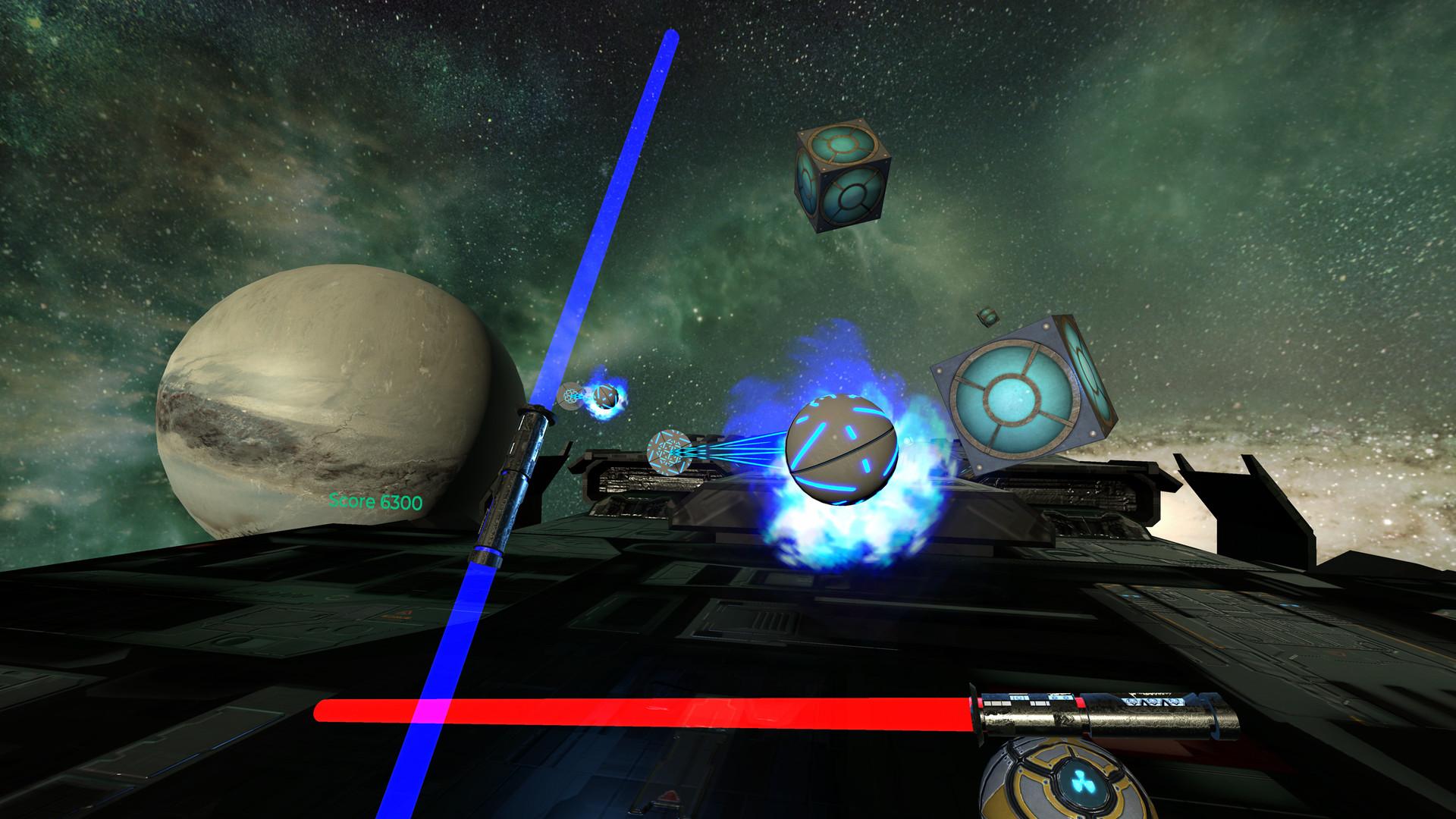 Oculus Quest 游戏《Energysaber Masta VR》太空光剑格斗VR插图(3)